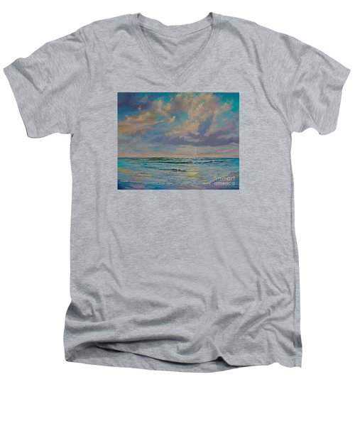 Serene Sea Men's V-Neck T-Shirt