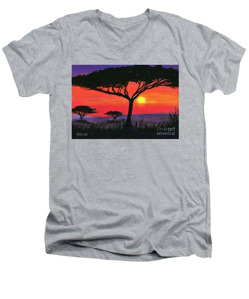 Kalahari  Men's V-Neck T-Shirt