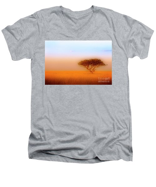 Serengeti Men's V-Neck T-Shirt