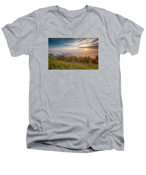 Men's V-Neck T-Shirt featuring the photograph Serenity by Doug McPherson