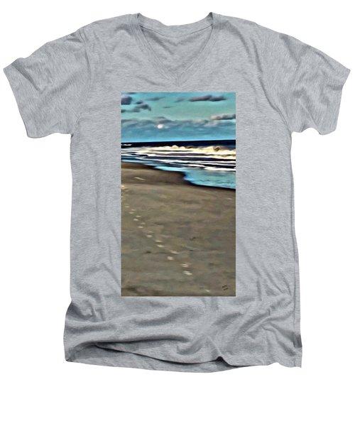 Serenity Walk Men's V-Neck T-Shirt
