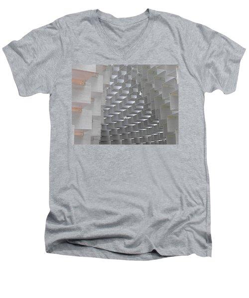 Serpentine Pavilion 09 Men's V-Neck T-Shirt