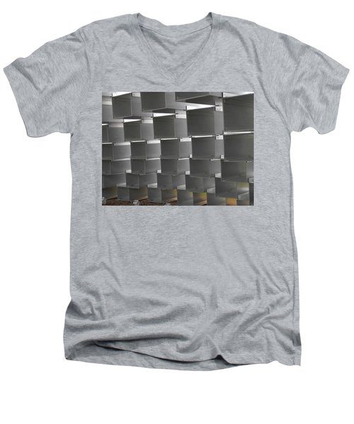 Serpentine Pavilion 12 Men's V-Neck T-Shirt