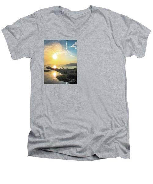 Sestri Levante Baia Delle Favole Men's V-Neck T-Shirt