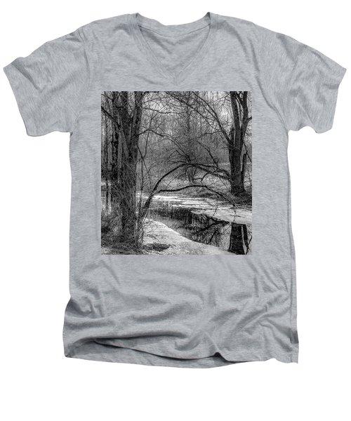 Set On Defrost Men's V-Neck T-Shirt
