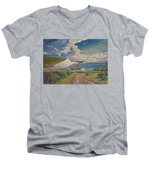 Seven Sisters Men's V-Neck T-Shirt