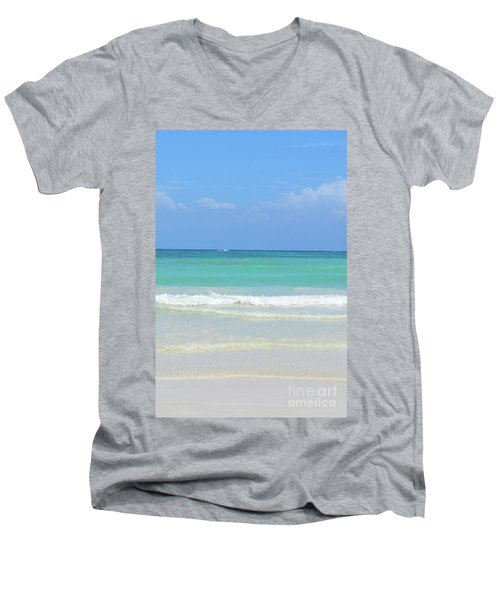Seychelles Islands 3 Men's V-Neck T-Shirt