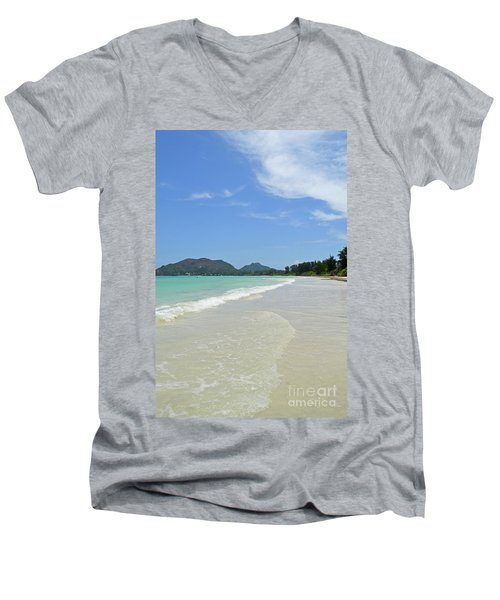 Seychelles Islands 6 Men's V-Neck T-Shirt