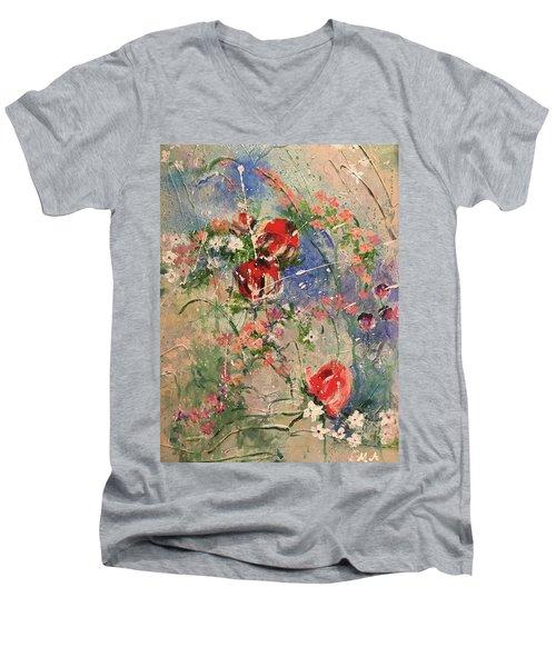 Shabby Chic #2 Men's V-Neck T-Shirt