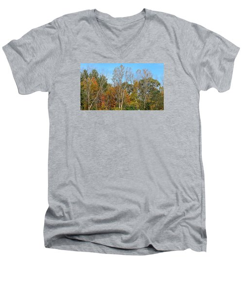 Shades Men's V-Neck T-Shirt by Jana E Provenzano