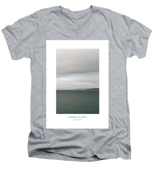 Shades Of Grey Men's V-Neck T-Shirt