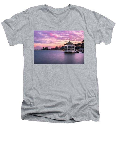 Shades Of Pink Light Men's V-Neck T-Shirt