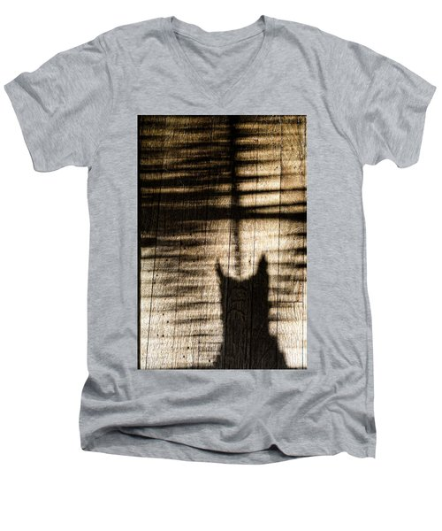 Shadow Cat Men's V-Neck T-Shirt
