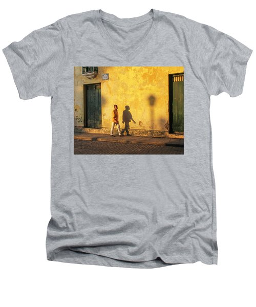 Shadow Walking Men's V-Neck T-Shirt