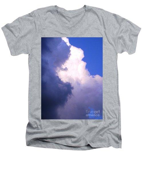 Shadow Work Men's V-Neck T-Shirt by Melissa Stoudt
