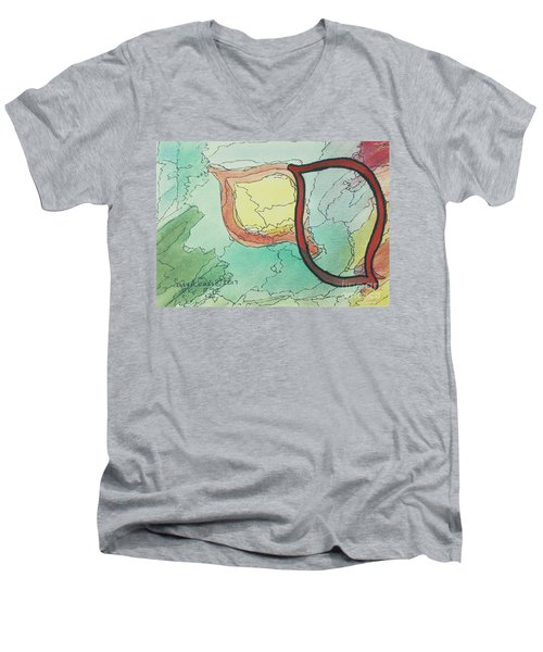 Shadow Yud Men's V-Neck T-Shirt