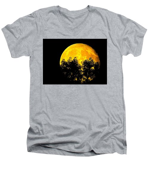 Shadows In The Moon Men's V-Neck T-Shirt