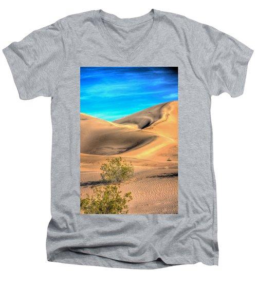 Shadows In The Sand Men's V-Neck T-Shirt