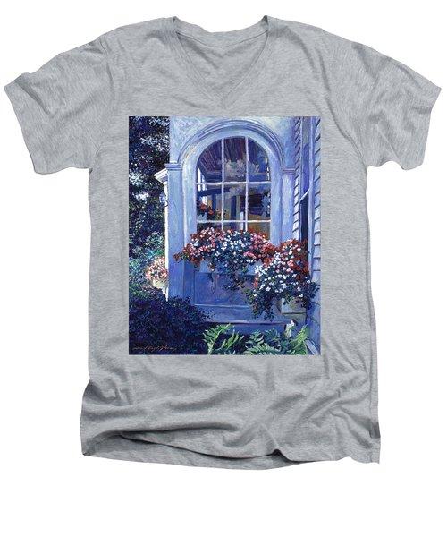 Shady Window Boxes Men's V-Neck T-Shirt