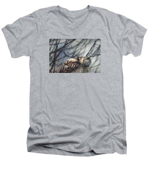 Shake It Off Men's V-Neck T-Shirt by Steven Llorca