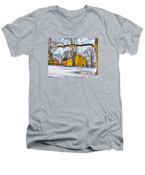 Shaker Swing In Winter 2 Men's V-Neck T-Shirt