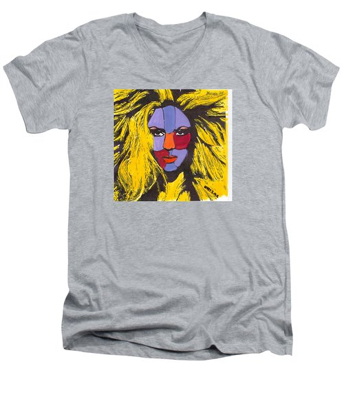 Shakira Men's V-Neck T-Shirt