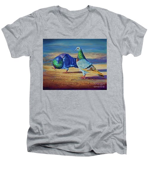 Shall We Dance? Men's V-Neck T-Shirt