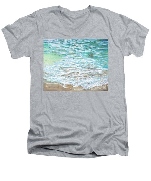 Shallow Water Men's V-Neck T-Shirt