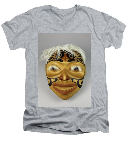 Shaman's Mask Men's V-Neck T-Shirt