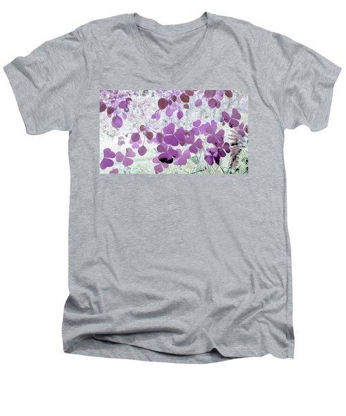 shamrocks #2A Men's V-Neck T-Shirt