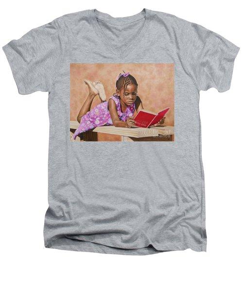 Shaquel Men's V-Neck T-Shirt