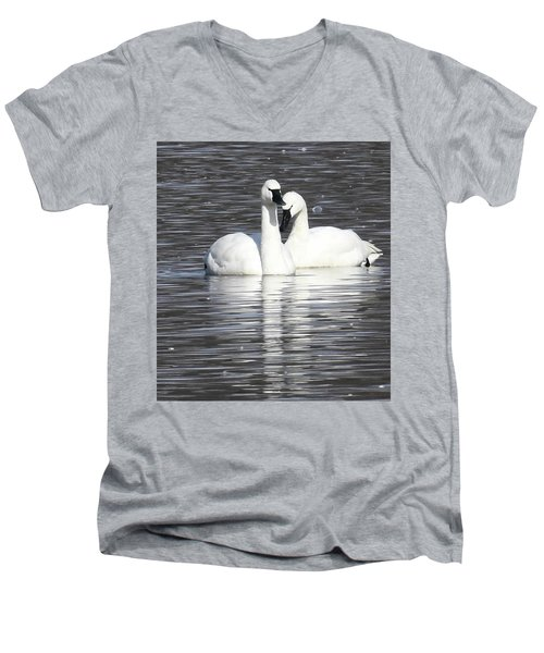 Sharing A Moment Men's V-Neck T-Shirt