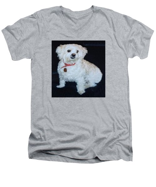Sharons Friend Men's V-Neck T-Shirt by Fortunate Findings Shirley Dickerson