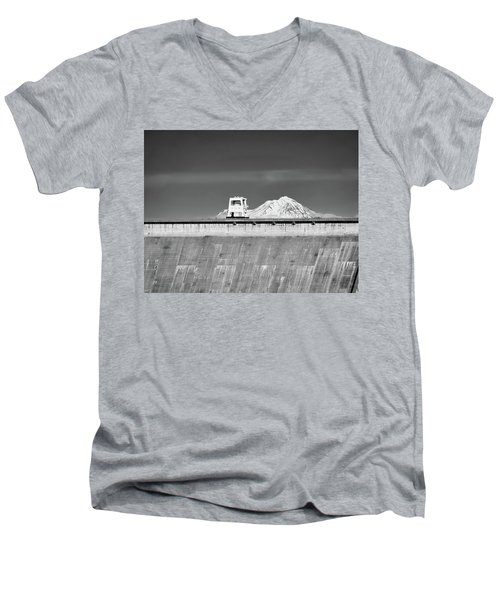 Shasta Dam  Men's V-Neck T-Shirt