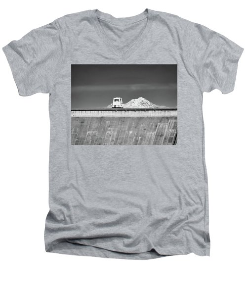 Shasta Dam  Men's V-Neck T-Shirt