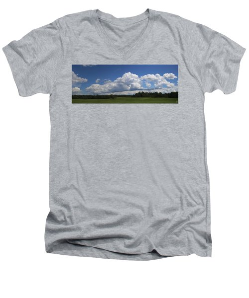 Shawmut Sky Men's V-Neck T-Shirt