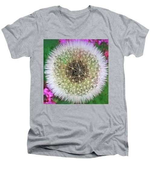 She Loves Me, She Loves Me Not Men's V-Neck T-Shirt