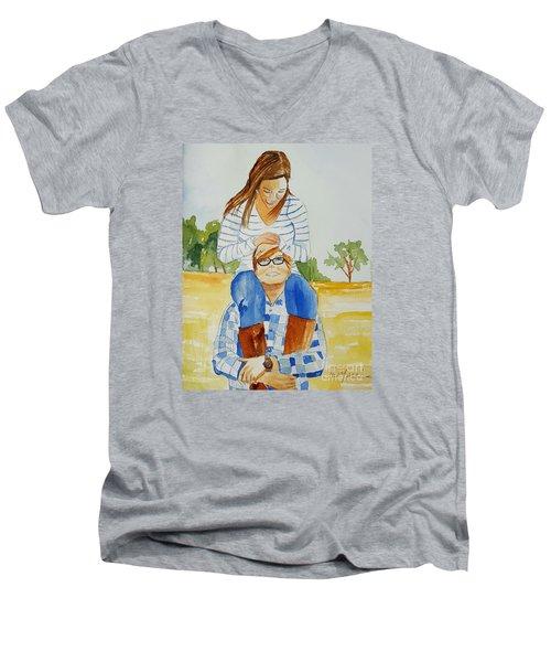 She Said Yes Men's V-Neck T-Shirt
