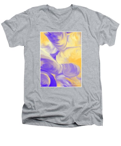 She Sells Sea Shells Men's V-Neck T-Shirt