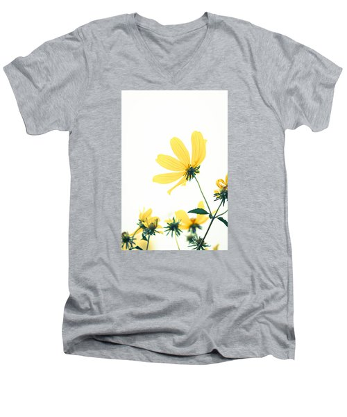 She Will Bring Out The Best Men's V-Neck T-Shirt by Wade Brooks