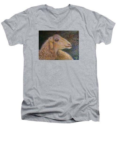 Sheep As Men's V-Neck T-Shirt