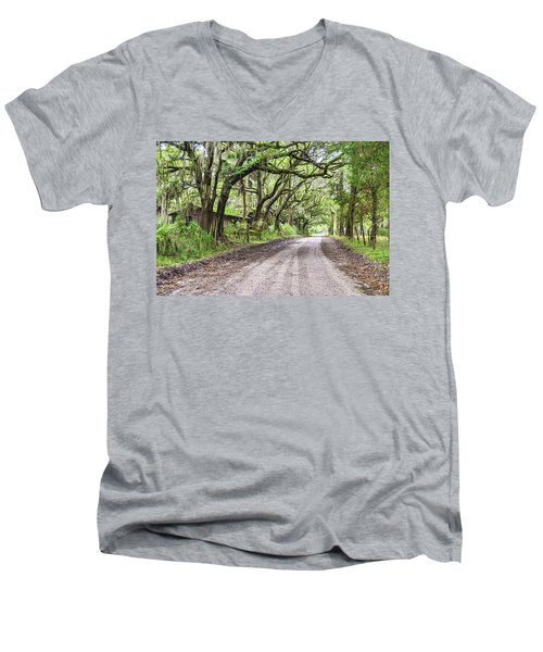 Sheep Farm On Witsell Rd Men's V-Neck T-Shirt