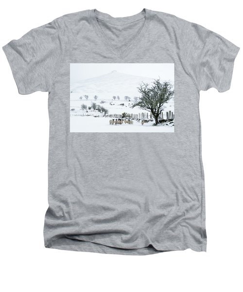 Sheep Shelter  Men's V-Neck T-Shirt