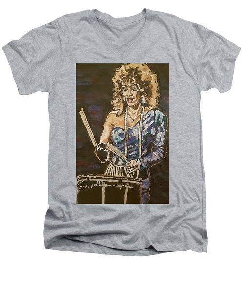Sheila E Men's V-Neck T-Shirt