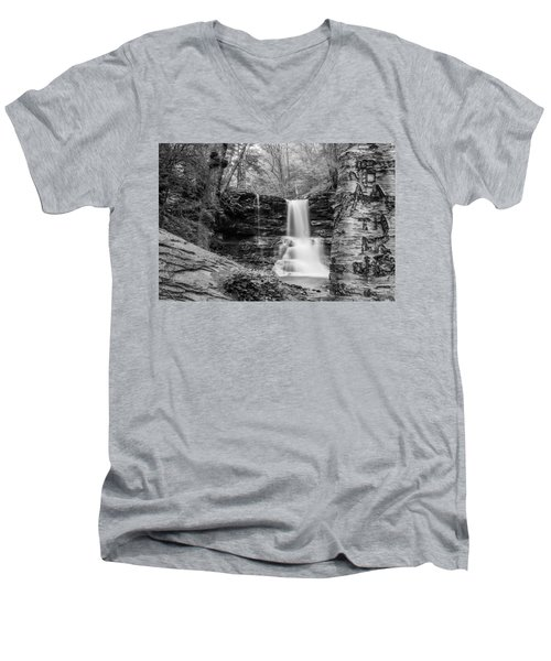 Sheldon Reynolds Falls - 8581 Men's V-Neck T-Shirt