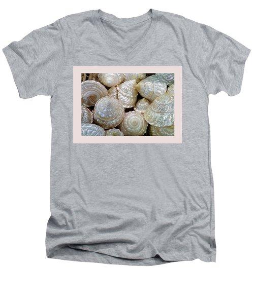 Shells - 4 Men's V-Neck T-Shirt