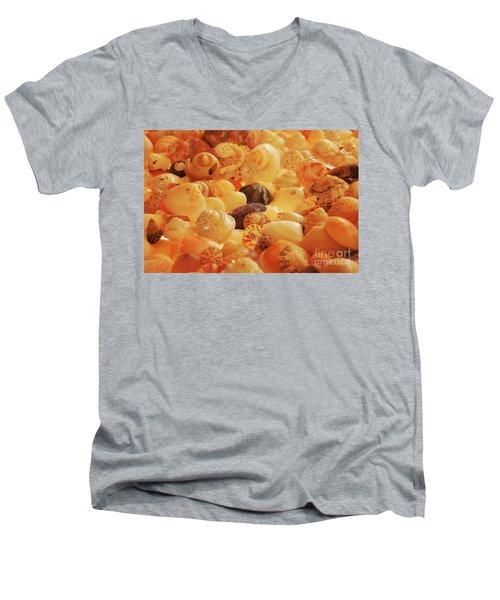 Shells Xvii Men's V-Neck T-Shirt by Cassandra Buckley
