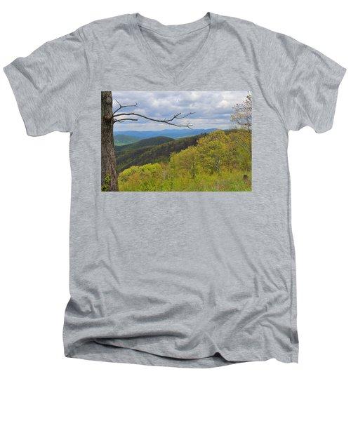 Shenandoah National Park Men's V-Neck T-Shirt