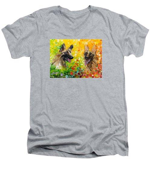 Shepards Men's V-Neck T-Shirt