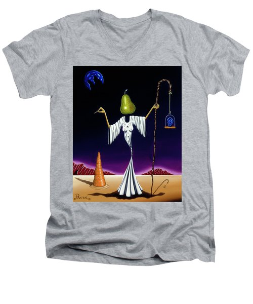 Shepherd Moon Men's V-Neck T-Shirt